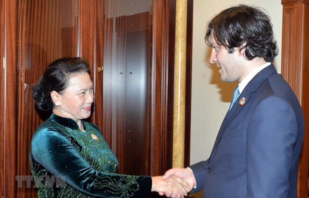 NA Chairwoman: Vietnam wants stronger ties with Georgia hinh anh 1