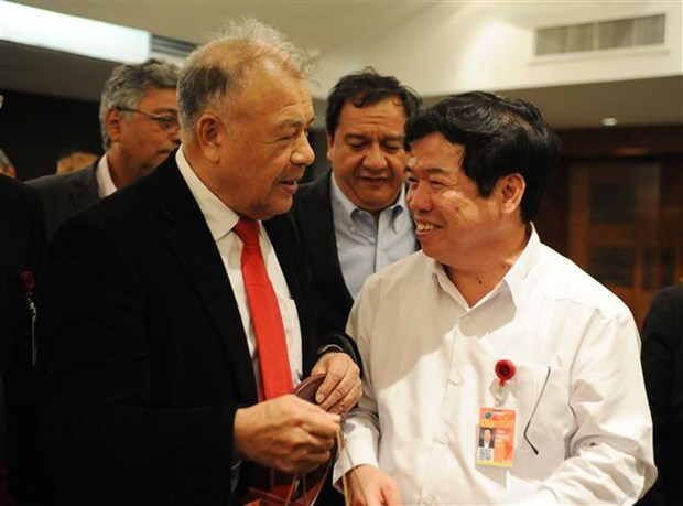 Party delegation attends international workshop in Mexico hinh anh 1