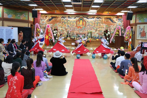 Vietnamese Buddhist Association in RoK looks towards homeland hinh anh 1