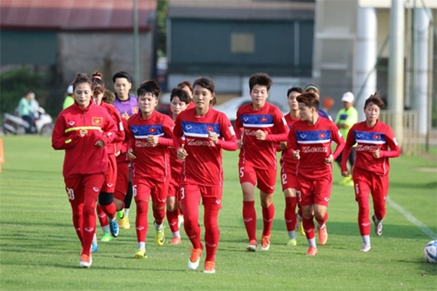 Vietnamese women step a little closer to Tokyo Olympics hinh anh 1