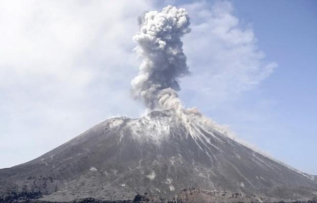 Indonesia to install early tsunami warning system near Mount Krakatau hinh anh 1