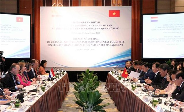 Climate change adaptation – important pillar of Vietnam-Netherlands ties hinh anh 1