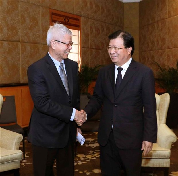 Vietnam rolls out red carpet for Thai investment: Deputy PM hinh anh 1