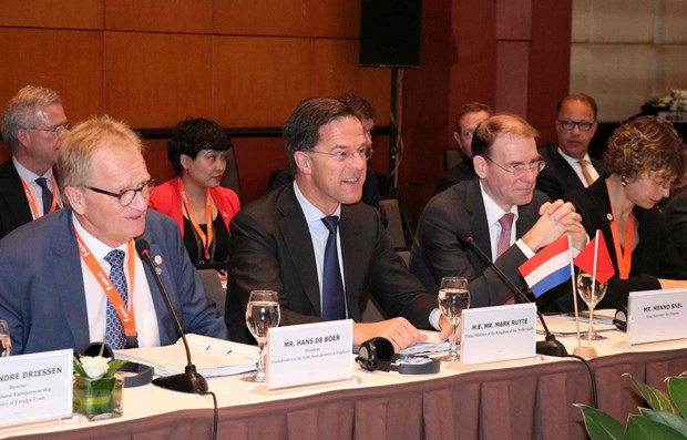 Dutch PM believes in stronger economic ties with Vietnam hinh anh 1