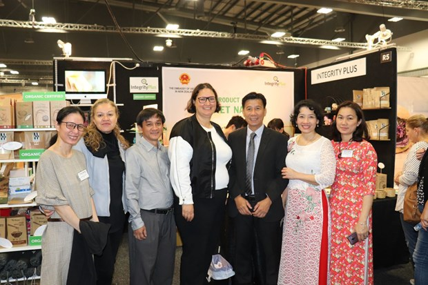 Vietnamese products introduced at Go Green Expo in New Zealand hinh anh 1