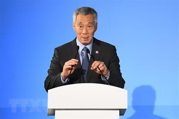 Leaders of Singapore, Malaysia vow to cooperate in solving dispute hinh anh 1