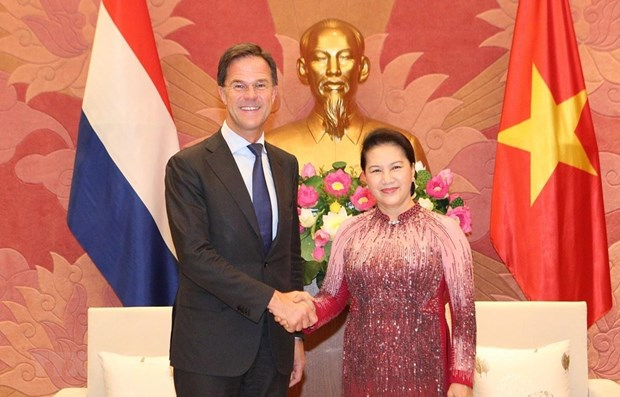 NA Chairwoman meets Dutch Prime Minister hinh anh 1