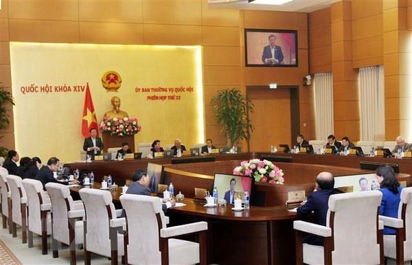 NA Standing Committee's 33th meeting to start on April 10 hinh anh 1