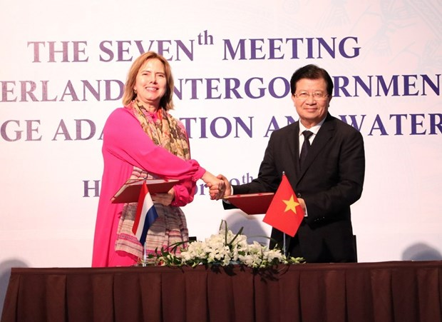 Vietnam, Netherlands boost cooperation in climate change adaptation hinh anh 1
