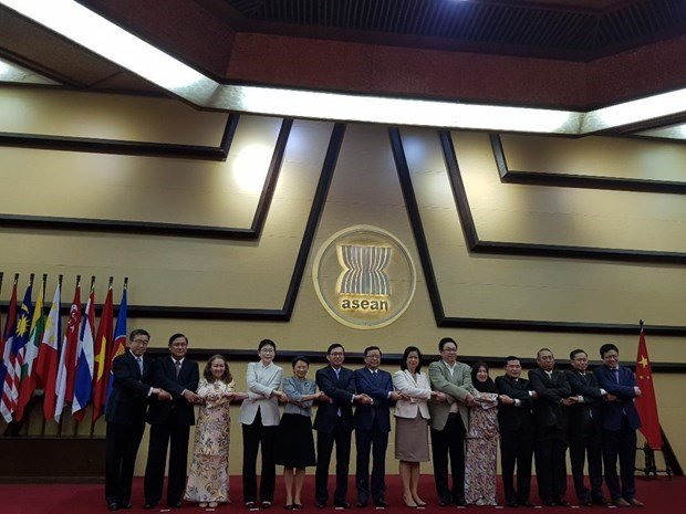 ASEAN, China enhance multifaceted cooperation hinh anh 1