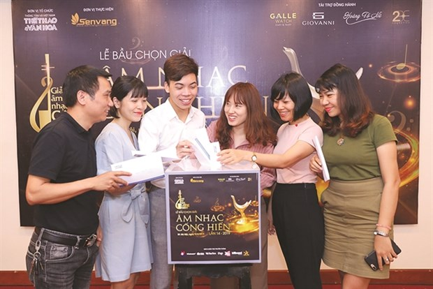 Voting for Devotion Music Awards held hinh anh 1