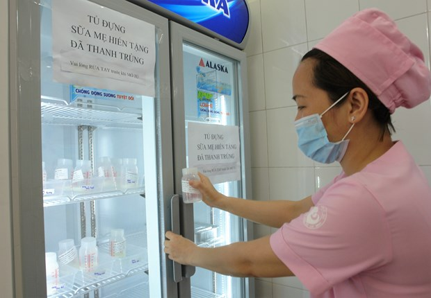 Southern region's first breast milk bank opened in HCM City hinh anh 1