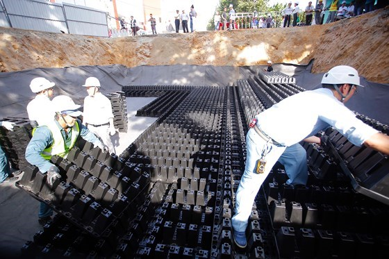 HCM City to build underground reservoirs hinh anh 1