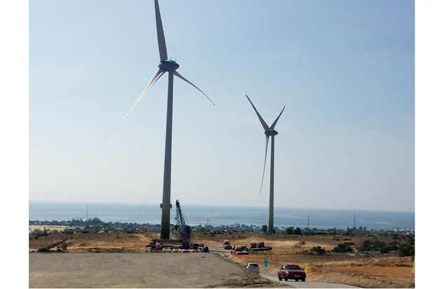 Ninh Thuan: Mui Dinh wind power plant inaugurated hinh anh 1