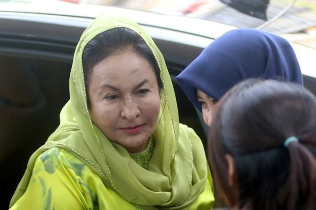 Malaysian ex-PM's wife accused of graft charge hinh anh 1
