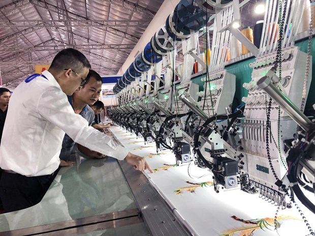 Int'l textile expo opens in HCM City hinh anh 1