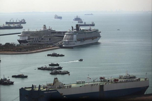 Singapore tops list of maritime capitals hinh anh 1