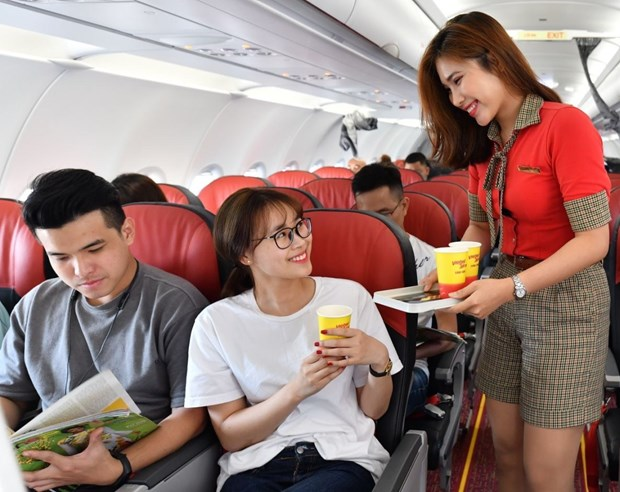 Vietjet's core business rises 49 percent in 2018 hinh anh 1