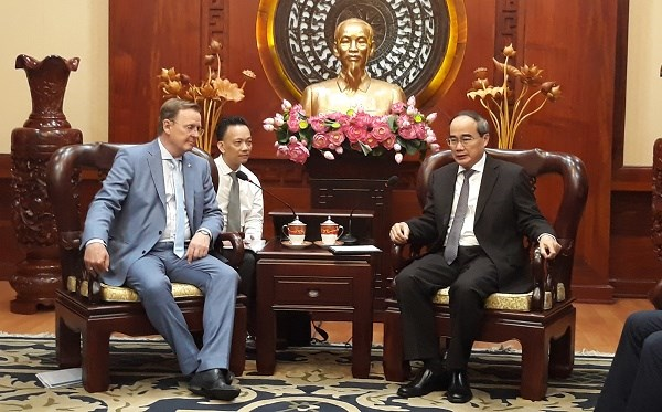 HCM City seeks vocation training cooperation with Germany's Thuringia state hinh anh 1