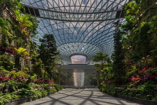 Entertainment complex inaugurated at Singapore's Changi airport hinh anh 1