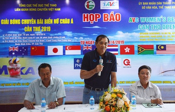 19 teams to compete at AVC Women's Beach Volleyball Tour 2019 hinh anh 1