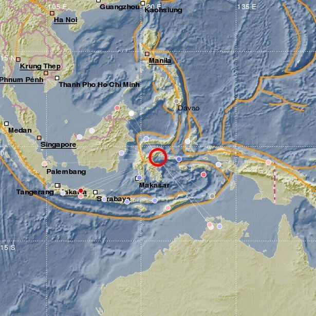 Indonesia: Strong quake-caused tsunami warning removed hinh anh 1