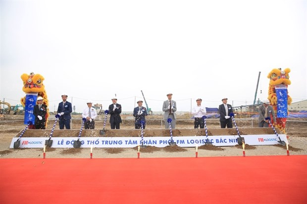 FM Logistic breaks ground for new distribution centre in Vietnam hinh anh 1