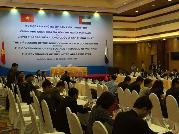 Vietnam-UAE intergovernmental meeting to discuss numerous issues hinh anh 1