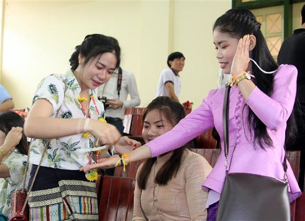 Thai Nguyen celebrates Laos' traditional New Year festival hinh anh 1