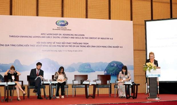 APEC workshop seeks to enhance digital literacy in women, girls hinh anh 1