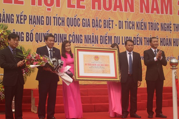 Thanh Hoa: Old temple named special national relic site hinh anh 1