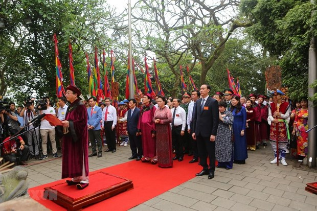 Hung Kings' death anniversary commemorated nationwide hinh anh 1