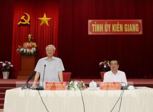 Kien Giang urged to fully tap potential for stronger development hinh anh 1