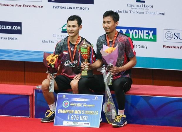 International badminton tournament wraps up in Hanoi hinh anh 1