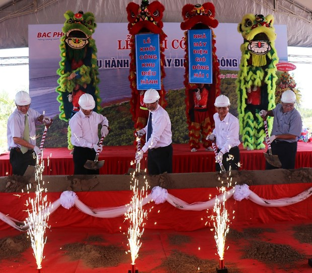 Work begins on wind power plant in Bac Lieu province hinh anh 1