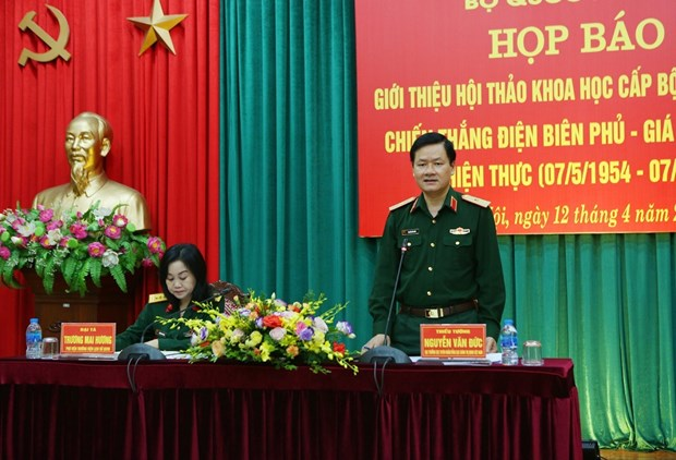 Symposium on Dien Bien Phu victory to focus on historical, realistic values hinh anh 1