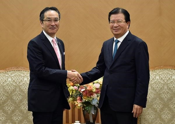Japan's Marubeni Corp. asked to boost ties with Vietnamese firms hinh anh 1