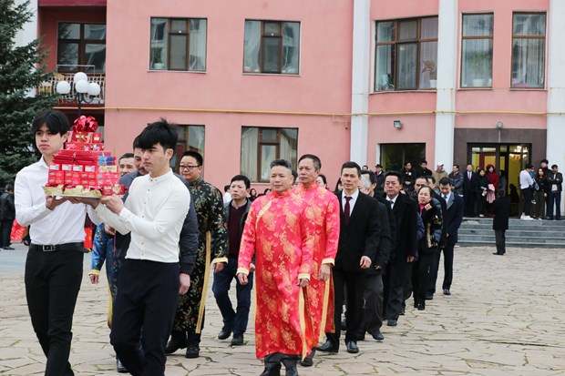 Hung Kings' death anniversary commemorated overseas hinh anh 1