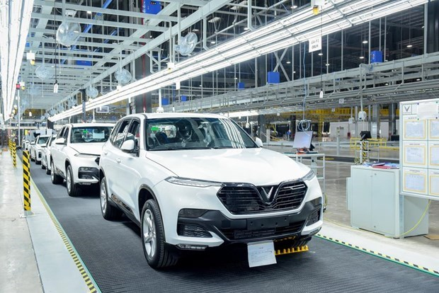 VinFast automobile factory to become operational in June hinh anh 1
