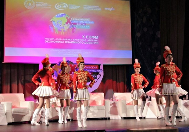 Vietnam attends Eurasian Economic Forum of the Youth hinh anh 1