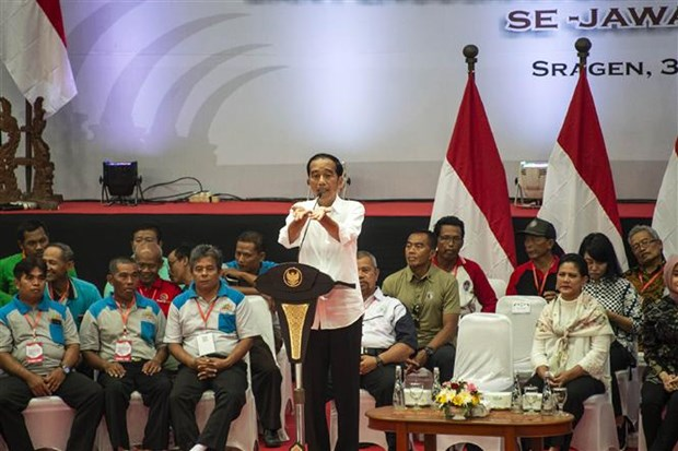Indonesia: Incumbent President Widodo temporarily leads in election hinh anh 1