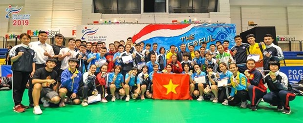 Vietnam dominates Southeast Asian karate champs hinh anh 1
