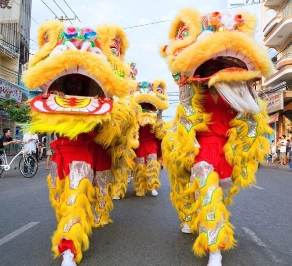 HCM City: Kylin-Lion-Dragon Dance champs to thrill audiences hinh anh 1