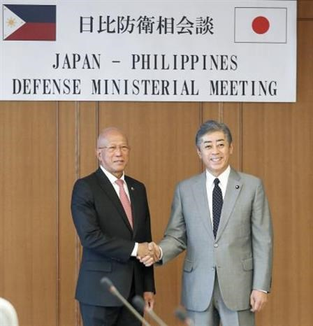 Philippines, Japan pledge to bolster defence cooperation hinh anh 1
