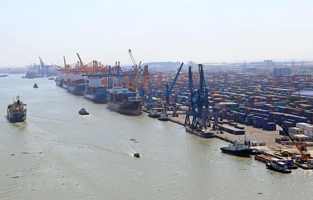Cargo via Vietnamese seaports hikes in Q1 hinh anh 1