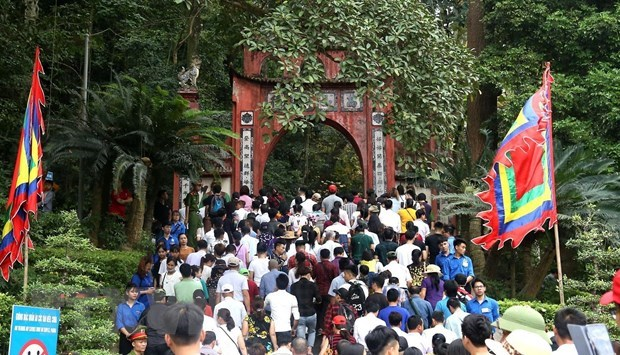 Phu Tho welcomes 7 million arrivals to Hung Kings Temple festival hinh anh 1