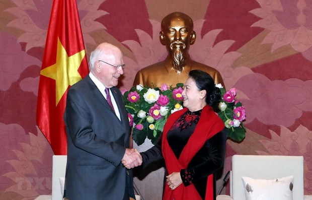 NA Chairwoman affirms Vietnam's ties with US hinh anh 1