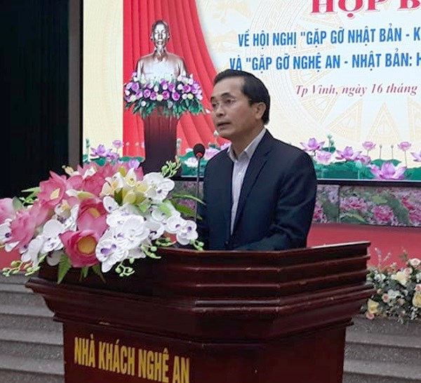 Nghe An works to enhance ties with Japanese partners hinh anh 1