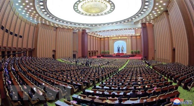 Vietnam congratulates newly-elected leaders of DPRK hinh anh 1