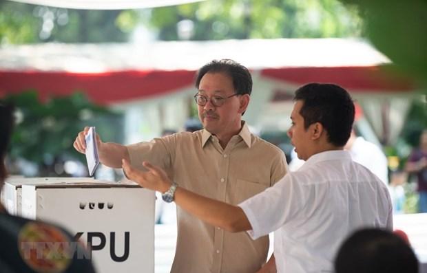 Indonesia election: Jayapura residents cast late ballots hinh anh 1